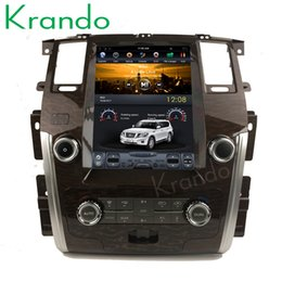 "$enCountryForm.capitalKeyWord Canada - Krando Android 8.1 12.1"" Vertical screen car dvd radio gps for Nissan Patrol SE high verion 2010-2018 navigation multimedia system"