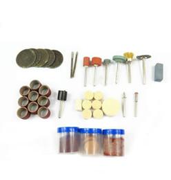 Venta al por mayor de 105 unid / set Mini taladro eléctrico qstexpress accesorios de molienda eléctrica conjunto amoladora herramienta para fresar herramientas de perforación de pulido