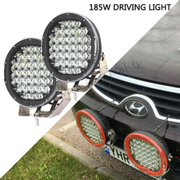 marine boat lights Australia - Free shipping 4pcs 9in 185W ARB led driving light for ATV UTV 4x4 racing marine boat dune buggy 4WD engineering vehicles working light