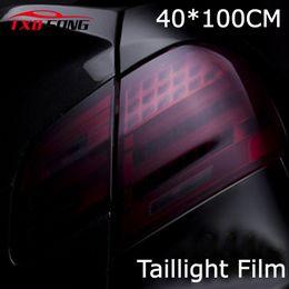 $enCountryForm.capitalKeyWord NZ - 40cm x 100cm car styling Matte Black Headlight Film Tint Taillight Motorbike Headlight Rear Lamp smoked Tinting Film Matt smoke