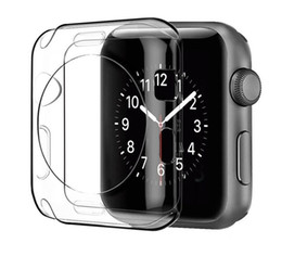 tpu iwatch 2019 - Ultra Clear TPU Soft Silicone Case Cover For Apple Watch Iwatch 38mm 42mm 40mm 44mm For iwatch Series 1 2 3 4 cheap tpu