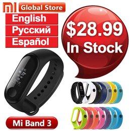 """Fitness Band Trackers NZ - Multi Language Xiaomi Mi Band 3 Fitness Tracker Smart Bracelet 0.78"""" OLED Touch Screen 50M Waterproof Miband 3 Smart Wristband"""