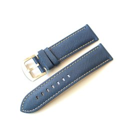 $enCountryForm.capitalKeyWord UK - 2019 new 20 22mm 24mm Handmade quality Genuine Leather Watch Straps Belt blue black Universal Watchbands Band for branded watch