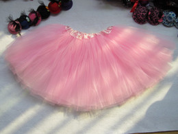 cheap red tutus Australia - Mulit Cheap Kids Girls Tutu Skirt Dance tutus Party Skirt Fancy Skirt Clothes 3layers Tutus Pettiskirt