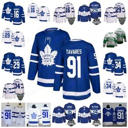 Men s Toronto Maple Leafs  34 Auston 16 Mitch Marner 29 William Nylander 91  John Tavares 100th Centennial Classic St Pats Hockey Jersey 884a52200