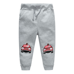$enCountryForm.capitalKeyWord Canada - Jumping meters kids new designed cartoon pants with printed two cute cars baby boys girls hot selling spring autumn clothes new