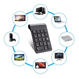 $enCountryForm.capitalKeyWord Australia - Portable 2.4G Wireless Digital Keyboard USB Number Pad 18 Keys Numeric Keypad