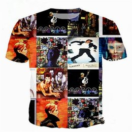 2eb0db61bf1 Plus size rock shirts women online shopping - Rock Star David Bowie Newest  Fashion Men Women