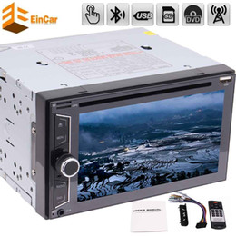Stereo Double Australia - 6.2'' Eincar Car Audio Stereo NO GPS Navigation Double 2 Din Head Unit Multimedia Player automagnitol car dvd stereo monitor player BT