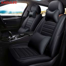 Wholesale Custom Leather Car Seat Cover For BMW X6M Z4 X6 X5 X3 X1 1 7 Series GT Station Wagon Seats Protector Styling