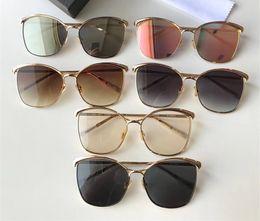 Discount hipster eye glasses 2018 Fashion Cat Eye Sunglasses Lady Oversized Adumbral Sunglass Luxury Hipster Sun Glass Mirror Big Frame Polarized Sun