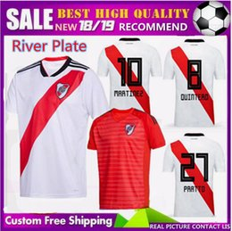 Discount river plate jerseys - FREE Ship 18 19 new River Plate PONZIO Soccer Jerseys 2018 2019 SCOCCO CASCO home MARTINEZ AWAY RED PEREZ FERNANDEZ FOOT
