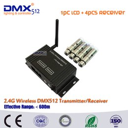 $enCountryForm.capitalKeyWord Australia - DHL Free Shipping LCD wireless DMX512 dmx controller compatible and XLR wireless transmitter and receiver for moving head