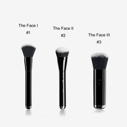 Wood box package online shopping - MJ THE FACE I II III Liquid Sculpting Buffing Foundation Brush No Box Package Quality BB Cream Foundation Beauty Makeup Brushes
