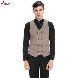 a9d0d28fac5 2017 Hot Casual Men Vests Suit Double Breasted Mens Wedding Vest Classic Men  Gilet Vest Groomsmen Tuxedo Waistcoat