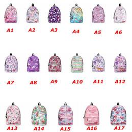 $enCountryForm.capitalKeyWord Canada - Cute Flamingo Unicorn Print Backpack Women Casual Female Bagpack Large Capacity School Bags for Girls College Student Bags Free shipping