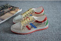 $enCountryForm.capitalKeyWord Canada - High Quality Fashion men rhinestone gold silver red mixed colors causal shoes loafers for mens driving bottom rubber anti-slip 38-44