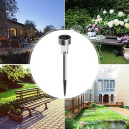 solar power lawn lights Australia - New LED Solar Lights Led Lawn Light Stainless Garden Outdoor Sun Light Corridor Lamp Outdoor Garden Lamp Solar Powered Colored Solar Lamps