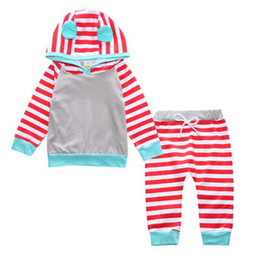 $enCountryForm.capitalKeyWord Canada - Fashion Yellow Long Sleeve Hooded Jacket + Striped Pants Cotton Set for 6M-24M