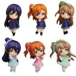 japanese love toys UK - 7pcs set Love Live! School Idol Action Figure Toys Collection Christmas Gift Pvc Model Collection Japanese Anime