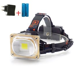 Headlamps Lights & Lighting Blu-ray White Light Dual Light Source Head Lamp Led Recharge Zoom Headlamp18650 Head Torch Led Headlight Lantern Camping Fishing Orders Are Welcome.