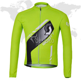 $enCountryForm.capitalKeyWord NZ - SCOTT team 2019 Cycling Jersey Men Long sleeve bike shirts quick dry racing clothing outdoor bicycle sportswear 61330
