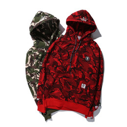 Wholesale Pullover Ourwear Camouflage Jackets Coat Men s Thin Black Green Red Camo Jacket Lovers Ourwear Coats Men Hooded Jacket