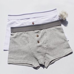 China Men's underwear, pure cotton, flat corner, artistic youth, summer, breathable, pure color, day, large size, plain shorts. cheap boxer sizes suppliers