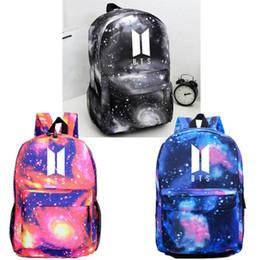 7c4b74260adc KPOP BTS рюкзак JIMIN Bangtan мальчиков сумка унисекс рюкзак плеча школьный  3 цвета N7090618