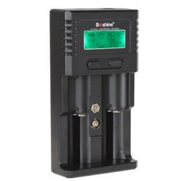 Lifepo4 Li Ion Battery UK - Soshine H2 Universal LCD Display Charger for Li-ion   Ni-MH   LiFePO4 Battery CHA_307