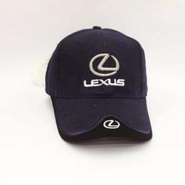 e54d4ce0c7d Black Blue Red White Headgear For LEXUS Car Profession Baseball Cap F1  Racing Cup adjustable Leisure Logo Hat casquette cap men