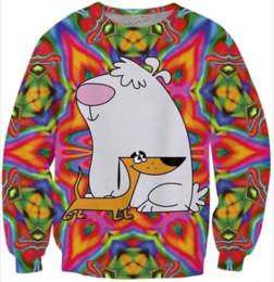 $enCountryForm.capitalKeyWord Canada - New Fashion Couples Unisex Anime Sweater Men Women 3d Sweater Print Colored Cartoon Funny Casual Sweate