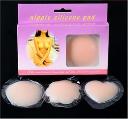 Tamax Hot Réutilisable Femmes Invisible Auto-Adhésif Silicone Poitrine Poitrine Nipple Couverture NuBra Bra Pasties Pad Pétale Mat Autocollants Accessoires