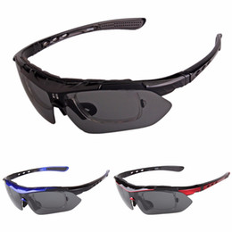 54dce4ac351 Fishing Eyewear Riding Cycling Glasses Flexible Detachable Temples  Interchangeable lenses Polarized Outdoor Sports Sunglasses