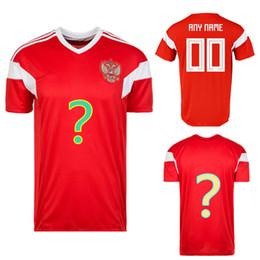 9a473cb57373 Hot Sell Men Sportswear Soccer Russia Shirt Breathable Short Sleeve Shirt  Soccer Jerseys Uniforms Football Shirt Tracksuit Custom Edition