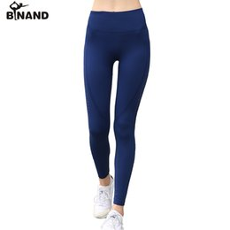 ddaeabb317 BINAND Women Side Hollow High Rise Tights Sports Pants Quick Dry Push Up  Compression Training Jogging Fitness Gym Yoga Leggings