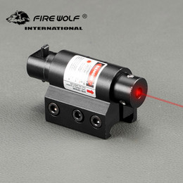 China Tactical Mini Red Laser Sight For Rifle Scope Airsoft 20mm Weaver Picatinny Mount Hunting Scopes Air Soft Tactical supplier scope light mounts suppliers