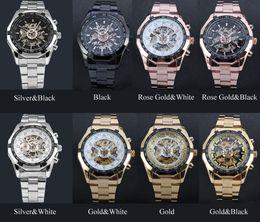 $enCountryForm.capitalKeyWord NZ - Blasting hot sell automatic hollow mechanical watch steel belt watch wholesale