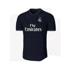 top 2018 Real Madrid Kit 18 19 RONALDO 3rd home Away soccer jersey BENZEMA  BALE SERGIO RAMOS MORATA ISCO NAVAS ASENSIO Jerseys set ee397e8ed