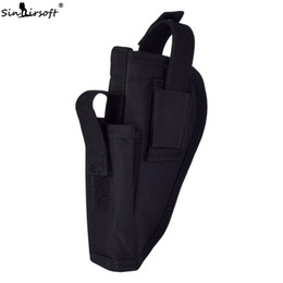 $enCountryForm.capitalKeyWord UK - Sinairsoft Tactical Pistol Universal Left Right Hand Waist Holster With Magazine Mag Pouch Pouches Ambidextrou Bag Fit Waist All Belt