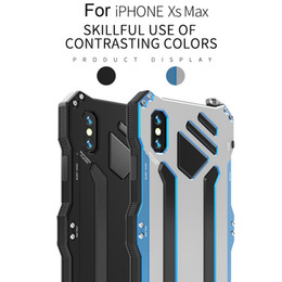 $enCountryForm.capitalKeyWord Australia - 2018 All Metal Drop-proof Mobile Shell Aluminum Metal Armor Case Waterproof Cover For iPhone XS XS MAX  XR