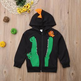 $enCountryForm.capitalKeyWord Australia - Kids Baby Boys Dinosaur Hoodie Jacket Sweatshirt Top Zipper Hooded Outwear