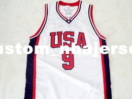 4ae4387c05b wholesale Vince Carter  9 Team USA New Basketball Jersey White Stitched  Custom any number name MEN WOMEN YOUTH BASKETBALL JERSEYS