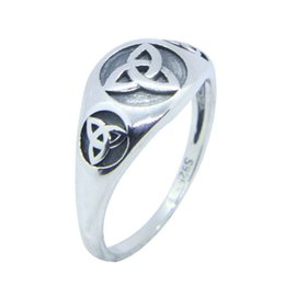 top indian girls NZ - Free Shipping Size 6-10 Lady Girls 925 Sterling Silver Ring Jewelry Newest S925 Top Quality Biker Ring