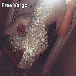 Strass cristaux de la mode des femmes robe de sangle discothèque sexy argent brillant or célébrer la danse du parti porter des robes une pièce
