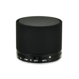 Mini Speaker Android Tablet UK - S10 Wireless Bluetooth Speaker Mini Portable Stereo Speaker with TF Card Slot for iPhone iPad Android Cellphone Tablet PC Mp3