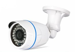Bullet proof cctv online shopping - IR night vision megapixe megapixel AHD camera HD Water Proof IR CCTV Coxial BNC cable connection bullet Camera AHD security camera