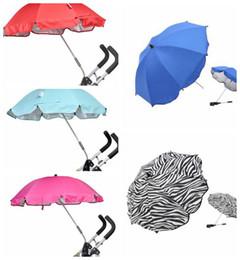 $enCountryForm.capitalKeyWord NZ - baby Stroller Umbrella Sun Canopy Adjustable Direction Pram Umbrellas Stand Holder Baby Pram Umbrella Stand Holder KKA6265