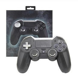 Discount ps4 pads - Wireless Bluetooth Elite PS 4 Joystick Gamepad Controller PS4 game controller with touch pad with retail box