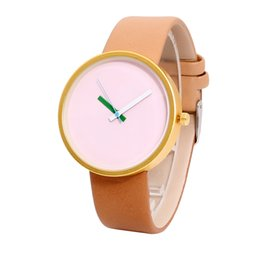 Watches Couple Glass Leather Skin Strap Womens Watch Mens Watch Quartz Lovers Watches Montre Femme 2019 Ladies Watch Dames Horloges